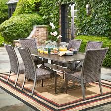 Patio Furniture Counter Height Table Sets - hampton bay carleton place 7 piece patio dining set rxhd 43 set