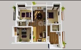 good 3 bedroom house plan kenya 3827