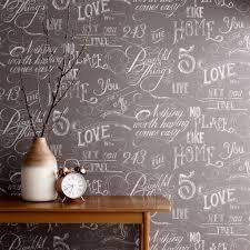 Grey And White Bedroom Wallpaper Chalk Board Grey Wallpaper Graham U0026 Brown