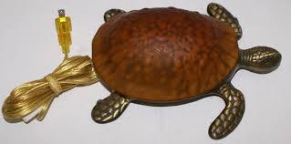 Brass Home Decor by Glass Brass Sea Turtle Lamp Sea Turtle Nightlight Sea Life Lamp
