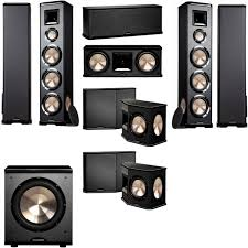 7 1 home theater system amazon com bic acoustech pl 980 7 1 home theater system new pl