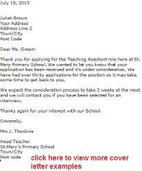 ideas about Cover Letter Teacher on Pinterest   Teacher     Private School Teacher Cover Letter