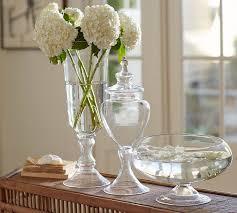 Decorative Glass Vases Voluminous Clear Glass Vases Pottery Barn