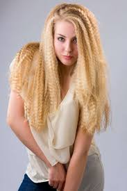 long crimped hairstyle one1lady com hair hairs hairstyle