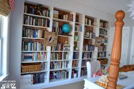 Ikea Bookshelves Built In by Ikea Billy Built In Bookshelves Bookcase Styling Home Stories