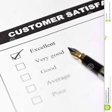 Evaluation of customer service and customer satisfaction levels in      Satisfaction Survey Template png   Pay Stub