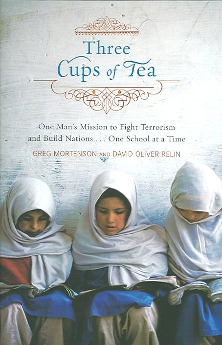Image result for three cups of tea