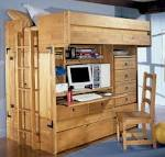 Rustica Storage and Loft Bed with Desk - Home Decorating Ideas ...