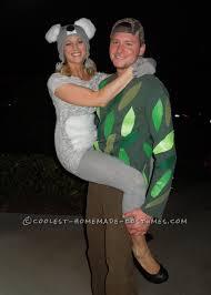 halloween costume ideas pairs original couple costume idea koala kouple couple costume ideas