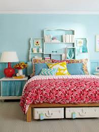 Simple And Colorful Design Ideas For Decorating Teenage Girls - Colorful bedroom design ideas