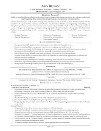 Qualifications Summary Resume Example by Analyst Skills Resume Resume For Your Job Application