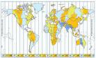 que es un planisferio terrestre