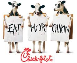 Chick-Fil-A Commerce cow