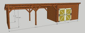 Free Firewood Shelter Plans by Storage Shed With Carport Should Be Able To Put About 5 Cords