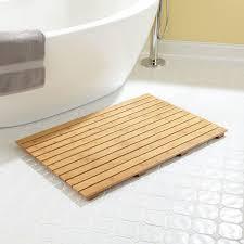 Teak Floor Mat Bathroom Sophisticated Bathtub Mats Bath Room Floor