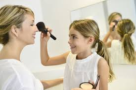 it 39 s diffe in every household but many little s start and love to experiment with makeup when they are very young perhaps even three or four