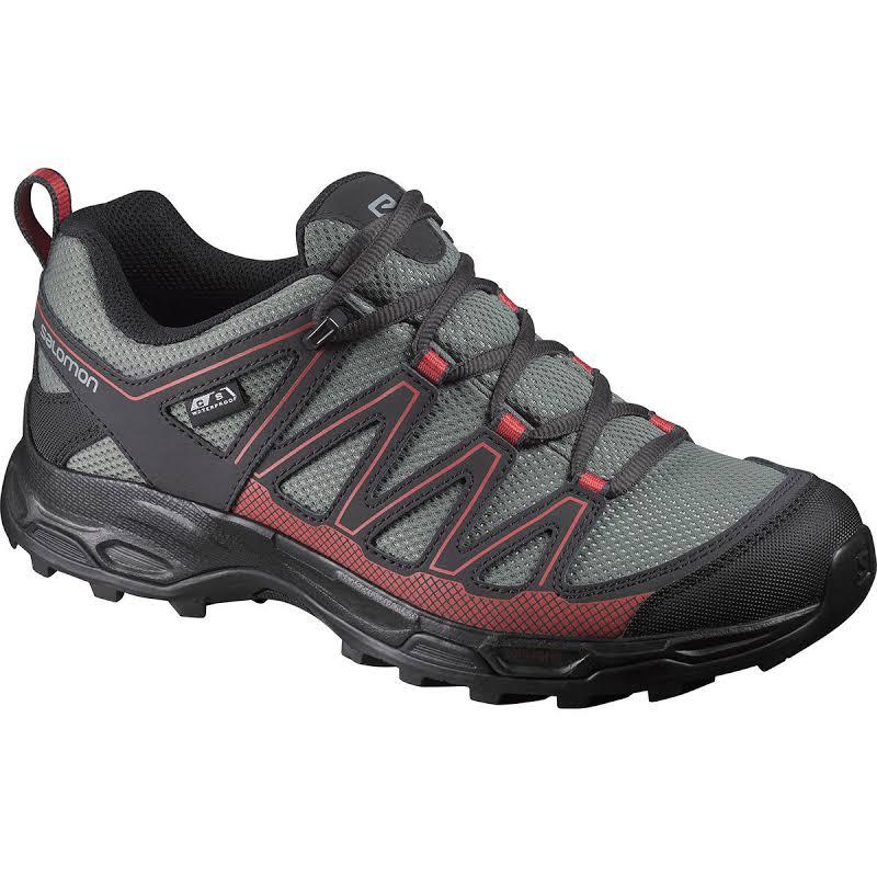 Salomon Pathfinder Low Climashield Waterproof Hiking Shoes Black, 6.5