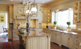 Simple Country Kitchen Designs Small Kitchen Decoration Using Solid Oak Wood Kitchen Counter And