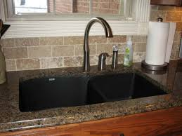 kitchen sink black granite boxmom decoration