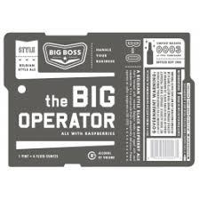 Big Operator : Big Boss Brewing Company : BreweryDB.