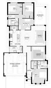 Cool Small House Plans Download 3 Bedroom House Plans Buybrinkhomes Com