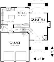 House Plans 2 Story by Traditional Style House Plan 3 Beds 2 50 Baths 1500 Sq Ft Plan