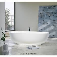 Stone Baths Puro Luxury Designer Freestanding Clear Stone Bath With Optional