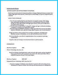 Sample Resume For Mechanical Design Engineer by Fpga Design Engineer Resume Resume For Your Job Application