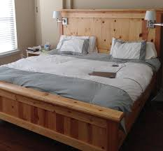 Woodworking Plans For A Platform Bed With Drawers by Best 25 King Bed Frame Ideas On Pinterest Diy King Bed Frame