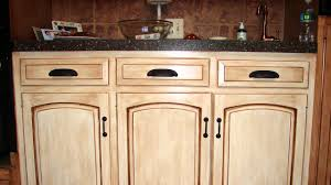 how to distress wood cabinets youtube