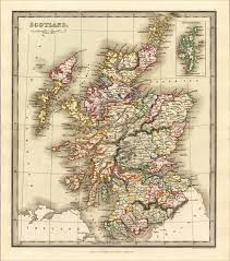 Oldest Map Of North America by Map Of Scotland Uk Antique Old Rare And Historic Maps U0026 Prints