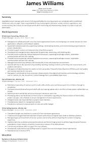 Director Of It Resume Examples by Project Manager Resume Sample Resumelift Com