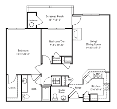 retirement home floor plans house design plans
