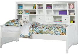 cottage colors white 5 pc twin bookcase daybed twin beds colors