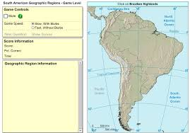 South America River Map by Interactive Maps And Games History Makes Men Wise