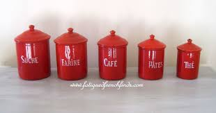 Kitchen Canisters Red 100 Red Canister Sets Kitchen Retro Kitchen Canisters