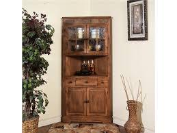 curio cabinet corner curio cabinets 4c4909534c10 1 rustic