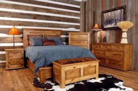 Cedar Bedroom Furniture Bedroom Surprising Winsome Dark Brown Rustic Bedroom Sets With