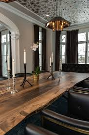 Rustic Modern Dining Room Tables by Best 10 Contemporary Dining Rooms Ideas On Pinterest