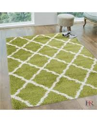 Green And Beige Rug Fall Into This Deal On Handcraft Rugs Shaggy Rug Trellis