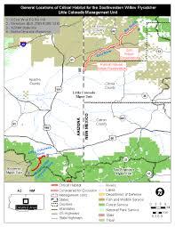 Colorado Unit Map by Southwest Region Arizona Es Field Office