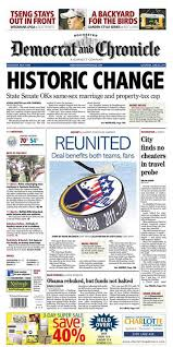 Front pages in NY feature historic passage of same sex marriage     Poynter