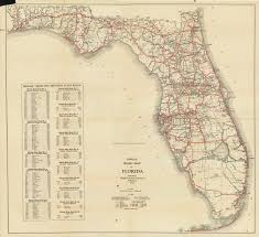 Boca Grande Florida Map by Florida Memory Official Road Map Of Florida 1930