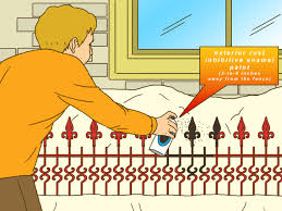 how to prepare a wrought iron fence for painting 7 steps