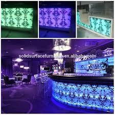 tw solid surface new design elegant home bar furniture bar counter