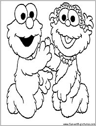 elmo coloring page alric coloring pages
