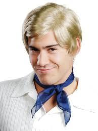halloween mens wigs amazon com enigma wigs men u0027s freddie blonde one size clothing