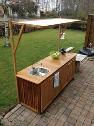 Diy Home Projects by How To Build An Outdoor Kitchen Counter 2017 Including Cabinets