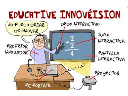 Profesor enseña de forma tradicional con medios de última tecnología