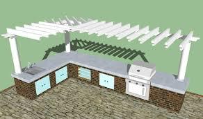 Diy Outdoor Kitchen Ideas Home Design Ideas Imposing 10 Outdoor Kitchen Designs Plans Free